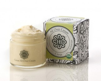 HollyBeth Organics Luxury Skincare Citrus All Over Cream
