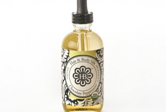 HollyBeth Organics Luxury Skincare Hair Body Silk