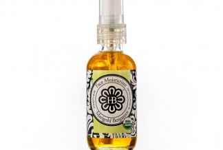 HollyBeth Organics Luxury Skincare Marigold Bergamot Dry Oil