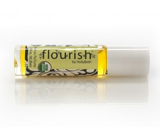 HollyBeth Organics Luxury Skincare flourish Rollon Perfume