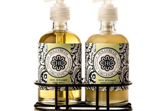 Basil Bergamot Hand wash Lotion set